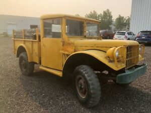 1952 Dodge M37 Canadian Military Army Truck 4X4