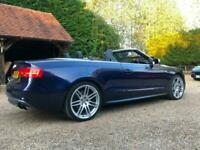 2014 Audi A5 S5 Quattro 2dr S Tronic CONVERTIBLE Petrol Automatic