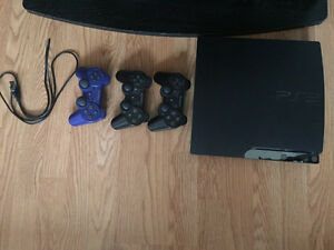 PS3 + 3 controllers + 10 games
