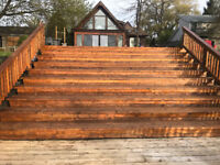 DECK STAINING - NO OBLIGATION QUOTE