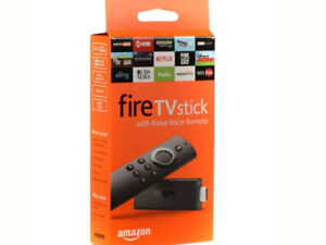AMAZON FIRE STICK WITH ALEXA VOICE 2ND GENERATION BRAND NEW