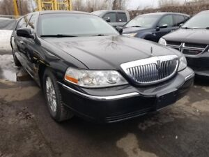 Lincoln Town Car Executive Limo *CUIR AIR CLIMATISÉ* 2011