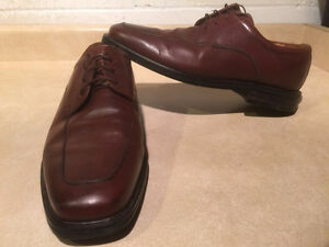 Men's Florsheim Brown Leather Dress Shoes Size 12