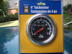 """4""""AUTO TACHOMTER NEW WORKS ON 4-6&8CYL"""