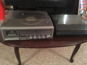 2 Record Players Turntables