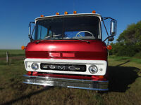 1964 gmc truck cabover coe 327 5spd std 2 speed axle SOLD JULY22