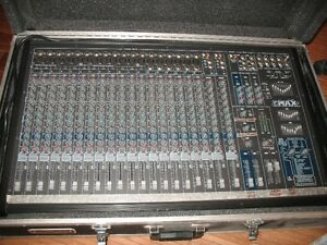 COMPLETE PROFESSIONAL PA SYSTEM - YORKVILL SOUND POWERED MIXER 2
