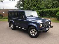 2005 Land Rover Defender 110 County Station Wagon Td5 9 Seats Cairns Blue