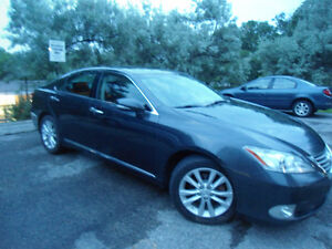2011 LEXUS ES350 , LOADED , HANDSFREE BLUETOOTH , SUNROOF !!!