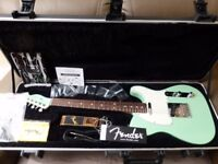 American Fender Telecaster, surf green with matching headstock