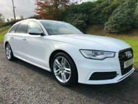 2013 Audi A6 Avant 2.0TDI S-Line Automatic 177BHP Estate