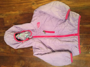 Girls 6 to 12 months North Face Perrito Reversible Jacket