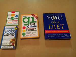 Diet/Calorie Counter Books