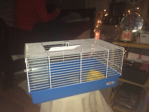 Hamster or small animal cage *with accessories**