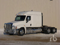 2014 Freightliner Cascadia Sleeper & 2014 Doepker 28 Ft Super B