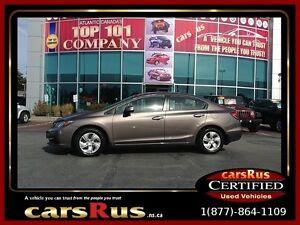 2013 Honda Civic LX Was $14,995 plus Tax Now $14,995 Tax In!!