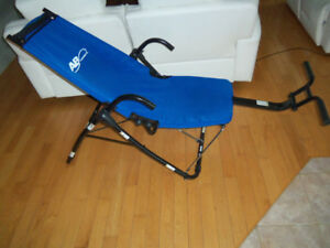 Chaise exercices abdominaux Ab lounge 2