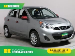 2015 Nissan MICRA S AUTO MAGS A/C CRUISE CONTROL