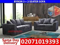 Grey 3+2 Sofa--Order Now!