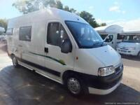 Trigano Tribute two berth campervan for sale