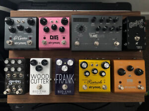 Pedal Purge! Strymon, Chase Bliss, Big Ear NYC, Goodwood Audio