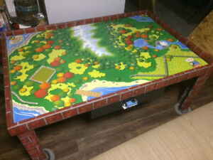 Thomas the train table with built in small drawer
