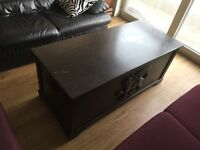 Antique solid wood chest/coffee table