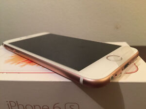 MINT ROSE GOLD IPHONE 6S 16GB TELUS / KOODO FOR TRADE
