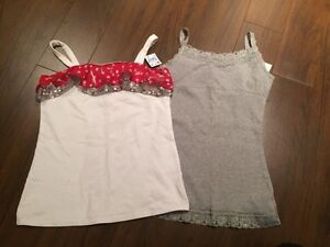 New with tags Justice tank tops size 12