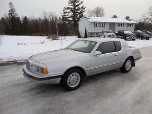 1986 MERCURY COUGAR S  5.0L V8 only 64K  SUPER CLEAN CAR!