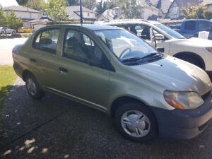 2000 Toyota Echo, low km, gas saver