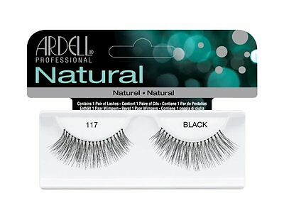 40 Pairs Ardell Natural 117 Fashion Lash Fake Eyelashes Black