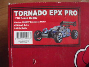Tornado EPX Pro - 4x4 Brushless RC Car