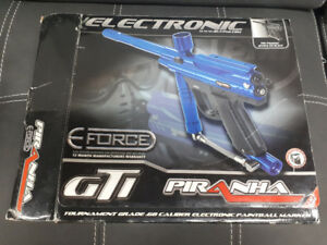 Piranha GTI Paintball Marker In box