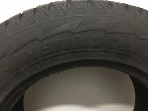 4 Hankook Winter Tires Used 1 Season Price negotiable West Island Greater Montréal image 1