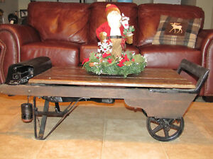 Farmer's Antique Weigh Scale Refurnished as Coffee Table  $400.