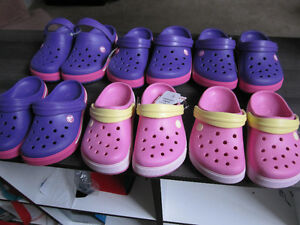 """Crocs"" (authentic Crocs), girls size 1 or 2, Brand New"