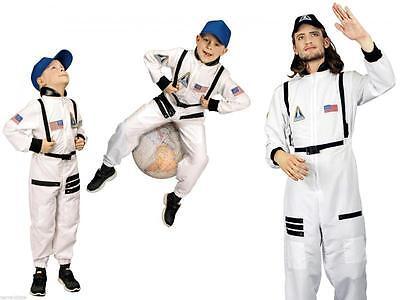 Astronaut Astronautenkostüm Raumanzug Spaceman Kostüm Overall Anzug Kinder Helm