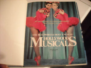 Hollywood Musicals - Best, Worst, & Most Unusual Hard Cover Book Peterborough Peterborough Area image 6