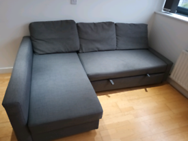SOLD IKEA FRIHETEN CORNER SOFA BED LOCAL DELIVERY AVAILABLE