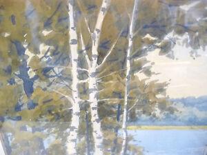"William Gardner Blackwood ""Warm Summer's Day"" Original Watercolo Stratford Kitchener Area image 6"