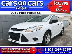 2012 Ford Focus SE $0 DOWN, $59 B/W! APPLY NOW!