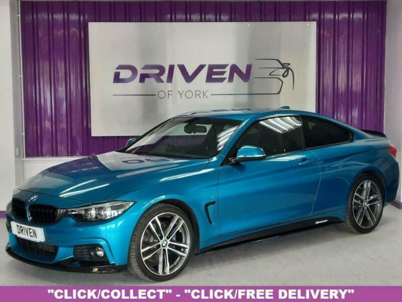 2017 BMW 4 Series 2.0 420D M SPORT 2d 188 BHP Coupe Diesel Automatic