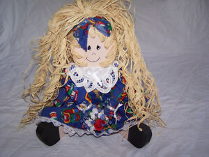 Wooden Doll Decoration