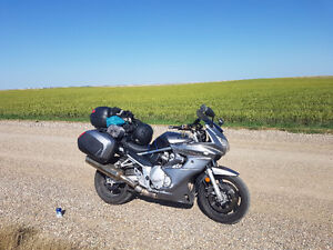 1250 Bandit ABS Touring bags