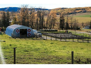 Millarville - 9.48 Acres - Complete House and Barn/Corrals Setup