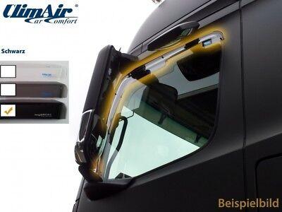 Climair Deflectores de Viento Renault Trafic Opel Vivaro 2001-2014 Negro