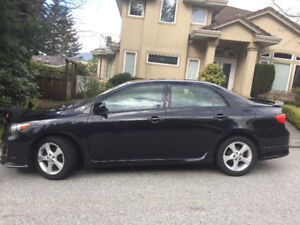 2012 Toyota Corolla Sedan with Ground Effects Package