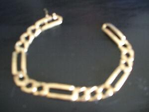 10 Carat Gold Bracelet and  10 Carat size 9 Ring