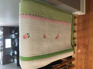 Children's Quilted Bed cover